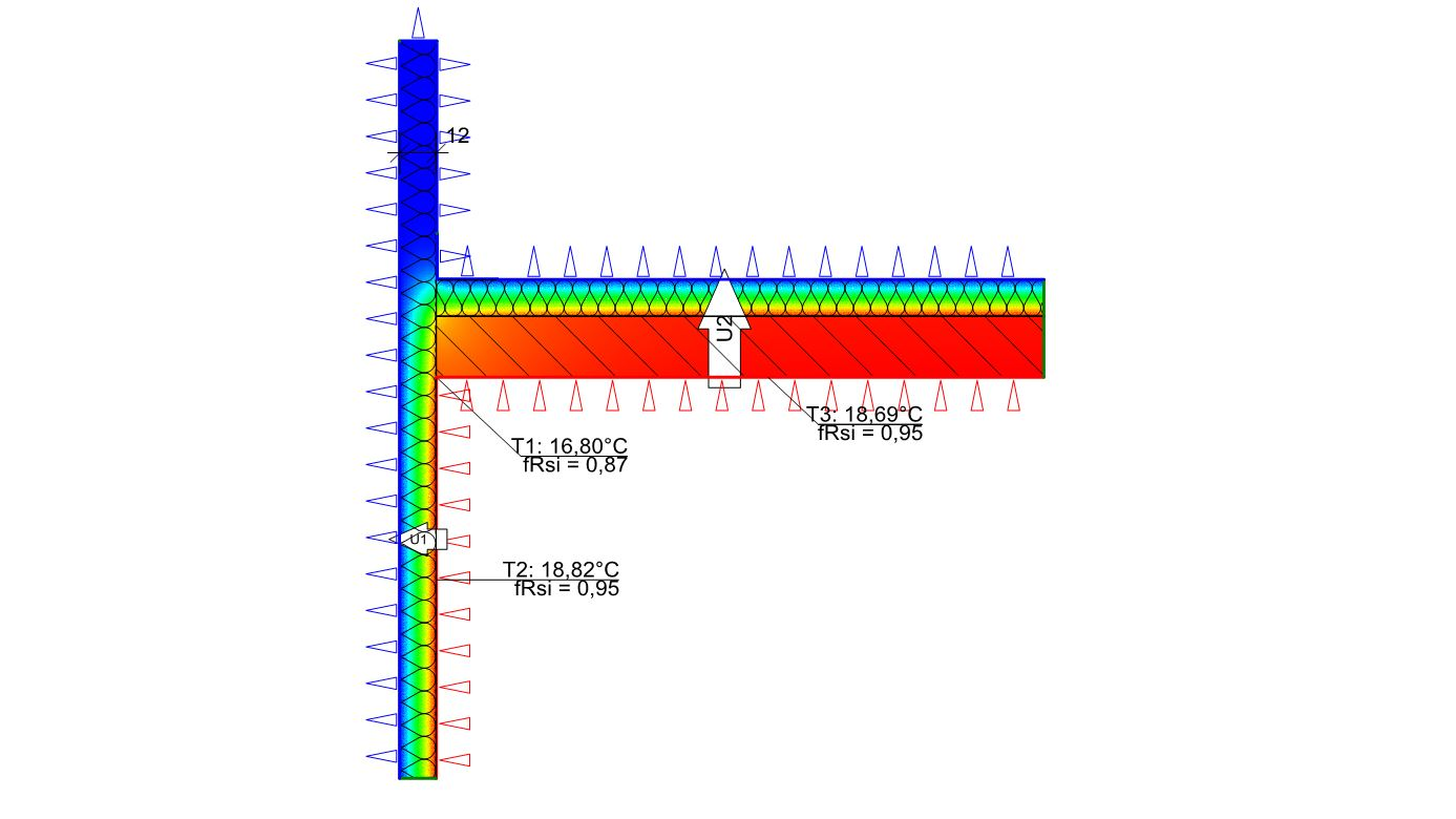 Wärmebild Energiekonzept Dach